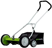 Greenworks 25062 18-inch 5-blade Push Re...