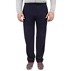 Style Shell Men's Cotton Track Pants (Style Shell_1_Navy_32)