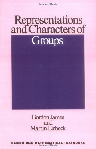 Representation and characters of groups
