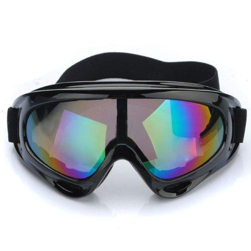 audew lunettes de ski moto motocross protection goggle anti uv ce. Black Bedroom Furniture Sets. Home Design Ideas