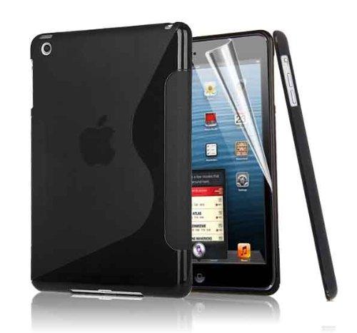 Brillant exécutif S Line IPAD Apple 4 Cover vague de gel de silicone pour Apple iPad 4, Ipad3 Ipad 2 NOIR