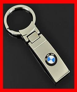 Bmw Rectangle Chrome Metal Keychain Holder from BMW
