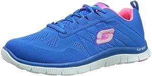 Skechers Flex AppealSweet Spot, Damen Sneakers, Blau (BLHP), 39 EU (6 Damen UK)