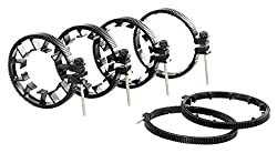 Flyfilms 6pcs Follow Focus Gear Rings Set for Nikon DSLR 5d 70d 600d Sony Canon Camera