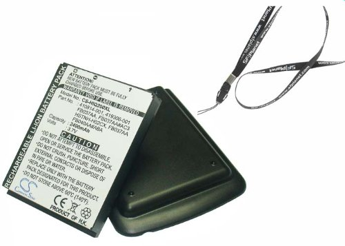 Fosmon® High Capacity 3650mAh Li-Ion Replacement Battery for HP IPAQ 200 / IPAQ 210 / IPAQ 211