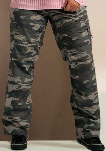 billig cargo hose damen online store cargo camouflage hose khaki so bin ich gr 56. Black Bedroom Furniture Sets. Home Design Ideas