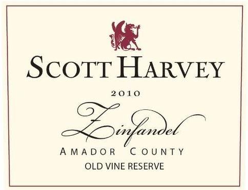 2010 Scott Harvey Wines Old Vine Reserve Zinfandel 750 Ml
