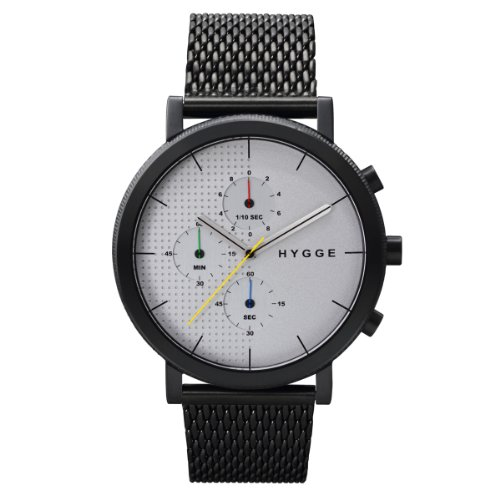 [ヒュッゲ]HYGGE 腕時計 2204 Mesh/White dial POS+ [ポスト] MSM2204BC(CH) メンズ 【正規輸入品】