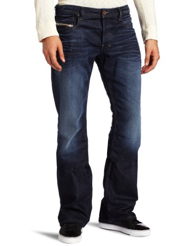 Diesel - Mens Zathan 0073N Jeans, Size: 33W x 34L, Color: Denim