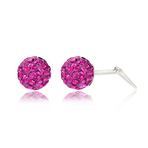 plata-de-ley-6-mm-fucsia-glitterball-crystal-andralok-pendientes-de-tuerca-caja-de-regalo