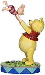 Jim Shore for Enesco Disney Traditions Pooh and Piglet Figurine, 7.28\
