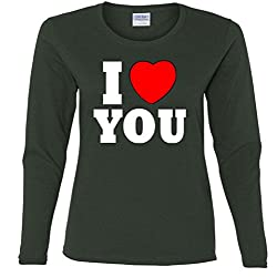 I Love You Missy Fit Long Sleeve T-Shirt