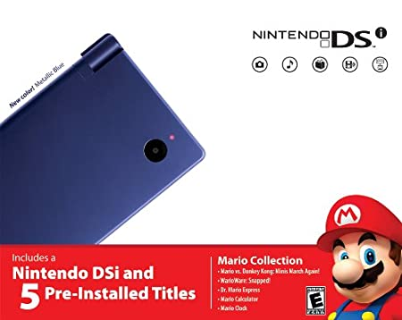 Nintendo  DSi  Bundle - Metallic Blue