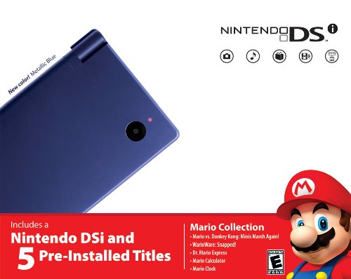 Nintendo Dsi Bundle - Metallic Blue front-493587