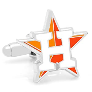MLB Official Houston Astros New Logo Cufflinks - Cuff Links by MLB
