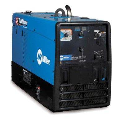 Trailblazer 302 Diesel Multi-Process Generator Welder 300A With 19Hp Kubota Diesel Engine And Gfci Receptacles
