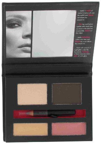 Jemma Kidd, Set regalo Fashion Palette, con 2 ombretti colori Nude da 2 g, 2 lucidalabbra da 2 g, e Eyeliner da 0,45 g