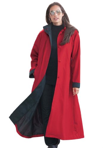 HOODED RAIN JACKETS FOR WOMEN: Jessica London Women&39s Plus Size