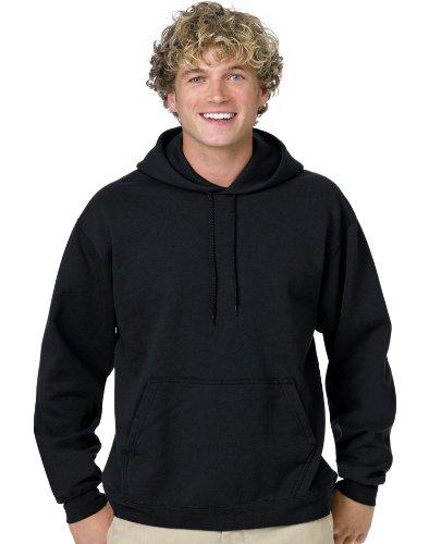 Hanes Men's Comfortblend Pullover Hood, Black, Small