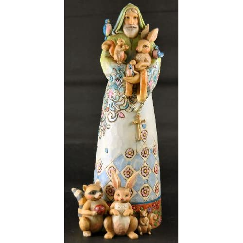 Enesco Jim Shore St Francis Religious Garden Statue Everything Else