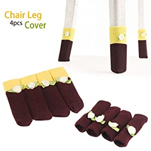Amazon.com: 1 Set of Table Chair Leg Cover Sock Case Furniture ...