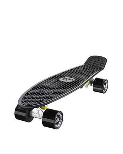 "Ridge Skateboards Monopatín Original 22"" Mini Cruiser Negro"