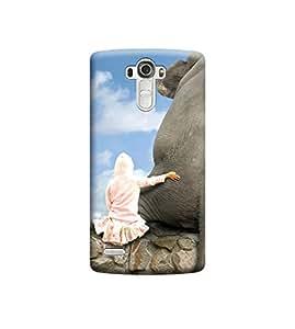 EPICCASE Premium Printed Back Case Cover With Full protection For LG G4 (Designer Case)