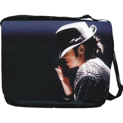 Michael Jackson Messenger Bag Book Bag Large