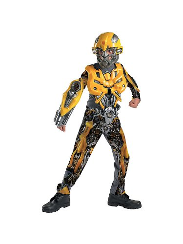 Disguise Bumblebee Kids Transformers Movie Boys Deluxe Costume