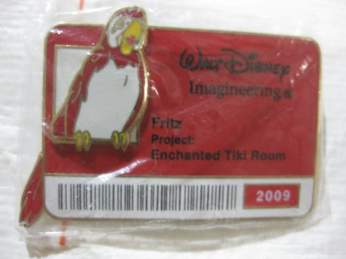 Disney Badge Pin Collection Fritz 2009 Limited Edition Of 300