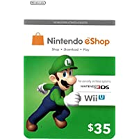 $35 Nintendo eShop Prepaid Card for Nintendo 3DS