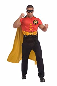 Robin Muscle Chest Top with Cap and Mask at Gotham City Store