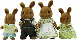 Sylvanian Families Fawn Rabbit Family