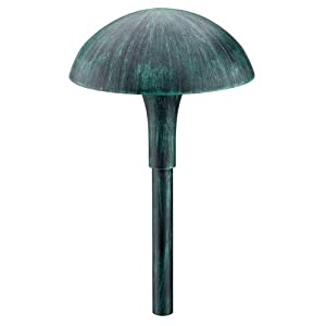 Click to buy Malibu Outdoor Lighting: Malibu 1 Premium Cast Metal Garden Light - Verde Finish from Amazon!