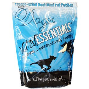 Vital Essentials Freeze-Dried Mini Patties Beef Entrée For Dogs - 1 Lb.