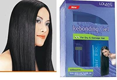 Lolane Hair Straightening Off Rebonding Gel for Dry & Damage Formula 125 Ml. x 3 Boxs