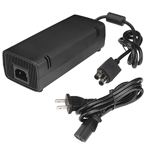 Pomelo Best Xbox 360 Slim AC Power Supply Auto Voltage 100-240V (Ac Power Supply For Xbox 360 compare prices)