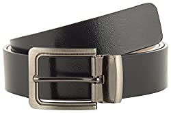 Jackblack Men's Leather Belt (SEVP013, Black, 36)