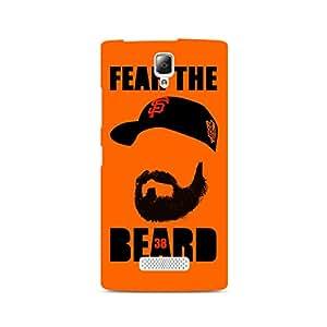 Ebby Fear the Beard Bud Premium Printed Case For Lenovo A2010