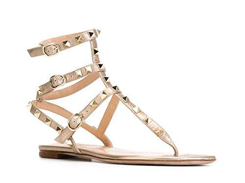 Sandali alla schiava Valentino in pelle Platino - Codice modello: KW2S0812VIU - Taglia: 40 IT