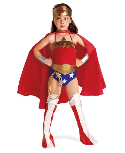 Wonder Woman Deluxe Kids Costume