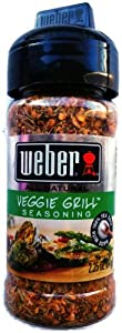 Weber Grill Seasoning Veggie Grill, 2.25-Ounce (Pack of 2)