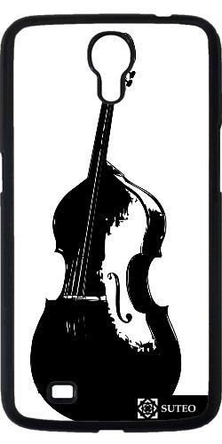 Hülle für Samsung Galaxy Mega 6.3 (GT-I9205) - Schwarz-Weiß- Bass - ref 358