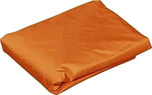 FIELDOOR 軽量アルミタープテント 2.5m×2.5m 専用サイドシート(横幕) ウォールジップタイプ (オレンジ) 「タープテントオプション」