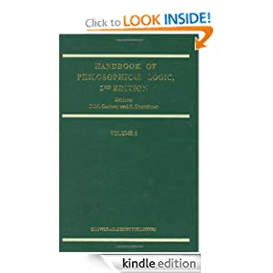 Handbook of Philosophical Logic: Volume 6 Dov M. Gabbay and F. Guenthner