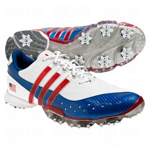 adidas Mens Ltd. Ed. USA Powerband 3.0 Golf Shoes