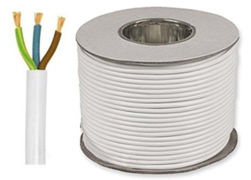 5-meters-of-white-1mm-10-amp-3183y-3-core-flexible-cable