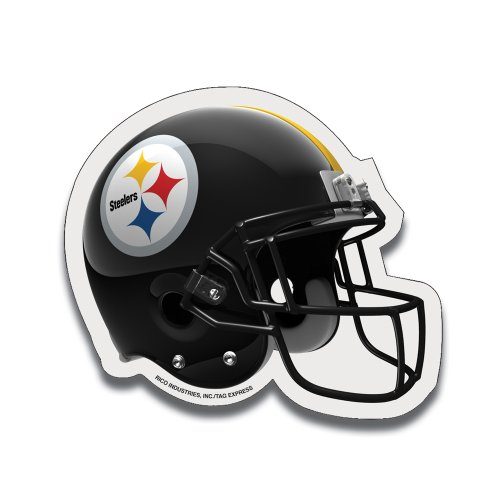 NFL Pittsburgh Steelers Football Helmet Design Mouse Pad