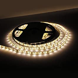 Ch&Ch Impermeabile 5M 18W 300x3528 SMD bianco caldo della lampada della luce di striscia del LED (12V, IP44)
