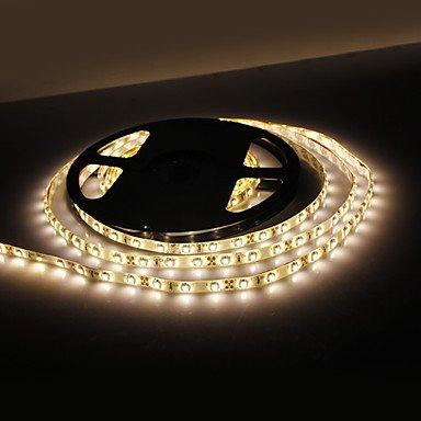 Zcl Waterproof 5M 18W 300X3528 Smd Warm White Light Led Strip Lamp (12V, Ip44)